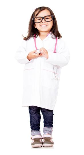 Fille docteur